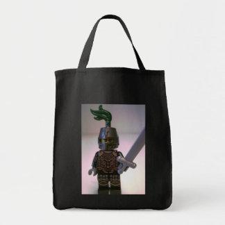 Kingdoms Dragon Knight Minifigure Grocery Tote Bag