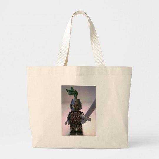 Kingdoms Dragon Knight Minifigure Large Tote Bag