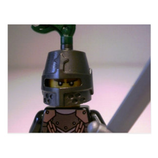 Kingdoms Dragon Knight Minifigure Postcard