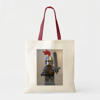 Kingdoms Lion Knight Minifig with Armour Budget Tote Bag