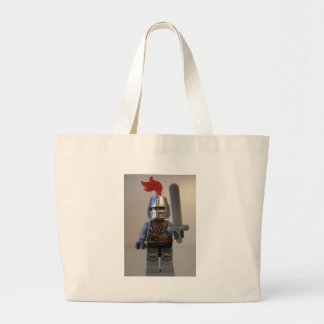 Kingdoms Lion Knight Minifig with Armour Jumbo Tote Bag