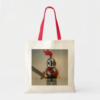 Kingdoms Lion Knight Minifigure Budget Tote Bag