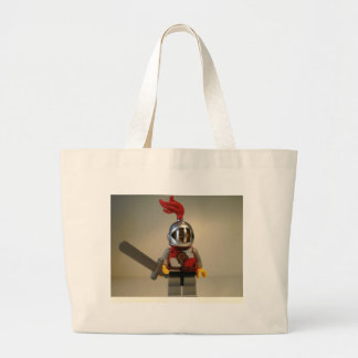 Kingdoms Lion Knight Minifigure Jumbo Tote Bag