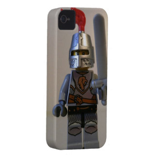 Kingdoms Lion Knight Minifigure with Armor Case-Mate iPhone 4 Case