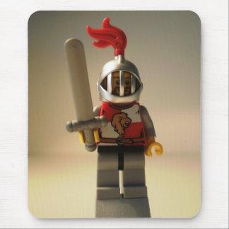 Kingdoms Minifig - Lion Knight Quarters Mouse Pad