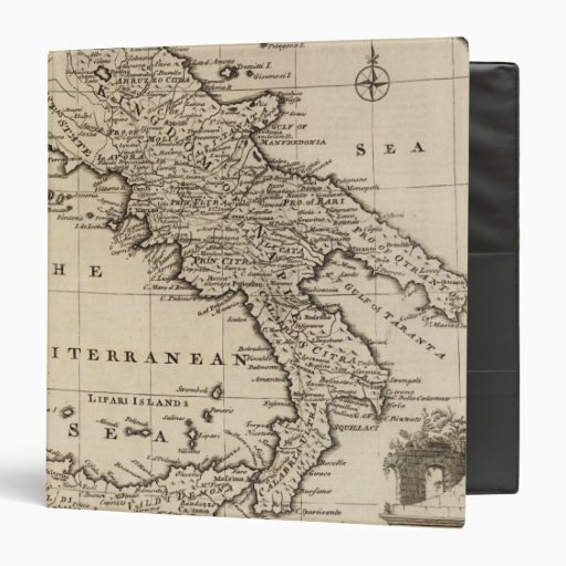 Kingdoms of Naples and Sicily, Italy Binders