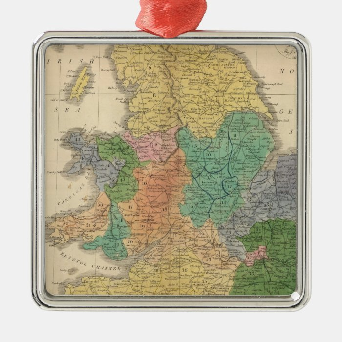 Kingdoms of the Anglo Saxons Metal Ornament