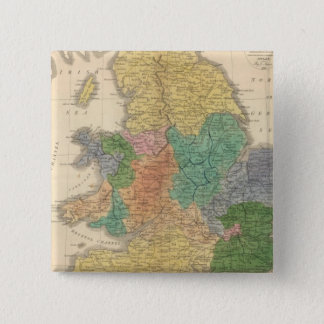 Kingdoms of the Anglo Saxons Pinback Button