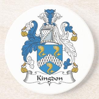Kingdon Family Crest Coaster