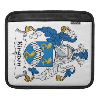 Kingdon Family Crest iPad Sleeve