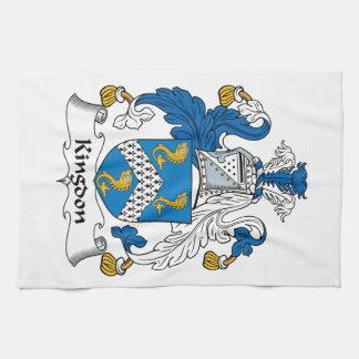 Kingdon Family Crest Towels