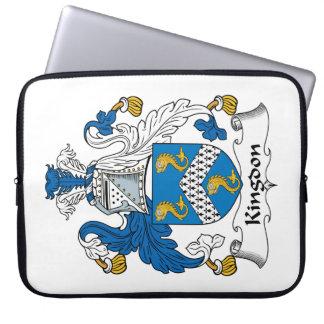 Kingdon Family Crest Laptop Computer Sleeve
