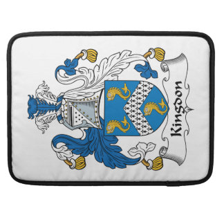 Kingdon Family Crest Sleeve For MacBook Pro