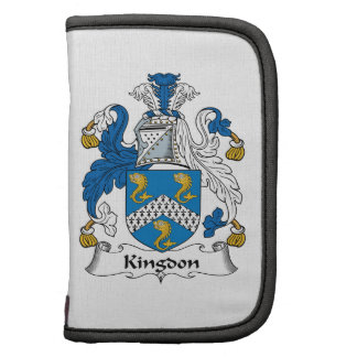 Kingdon Family Crest Organizers