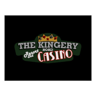 Kingery logo poster