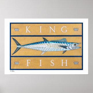 Kingfish Posters, Prints and Frames