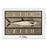 Kingfish Vintage B&W Greeting & Note Cards