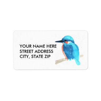 Kingfisher Address Labels