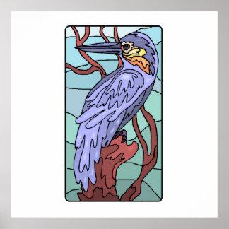 Kingfisher Art Poster