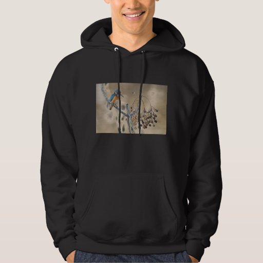 Kingfisher at Hula Reserve Hoodie