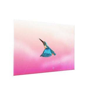 kingfisher Bird Canvas Print