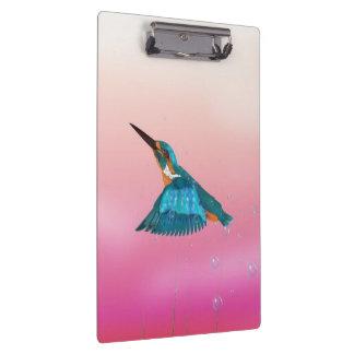 kingfisher Bird Clipboard