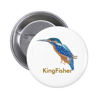 KingFisher Bird Pinback Button