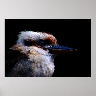Kingfisher bird print
