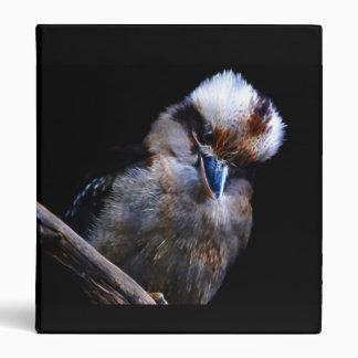 Kingfisher bird South Africa, 3 Ring Binder