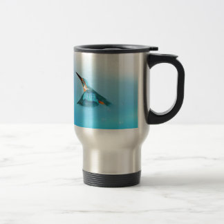 Kingfisher Bird Travel Mug