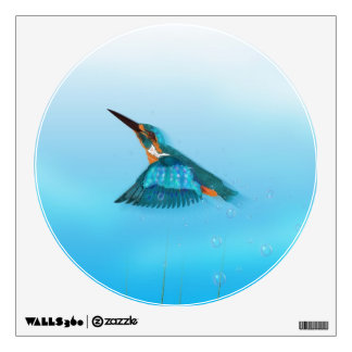 kingfisher Bird Wall Sticker