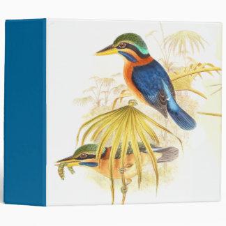Kingfisher Birds Wildlife Animal Pond Avery Binder