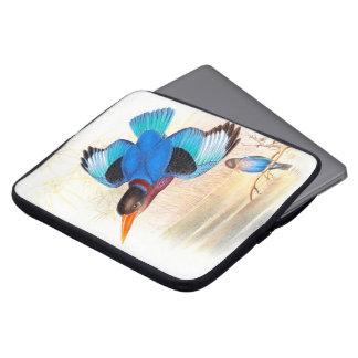Kingfisher Birds Wildlife Animals Pond Computer Sleeve