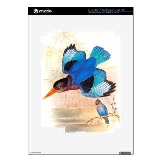 Kingfisher Birds Wildlife Animals Pond Decals For iPad 3