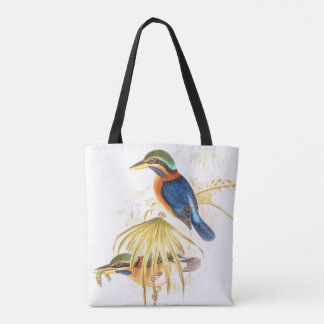 Kingfisher Birds Wildlife Animals Tote Bag