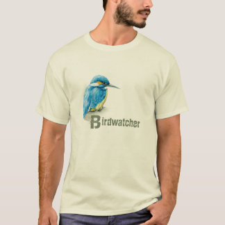 Kingfisher Birdwatcher t-shirt