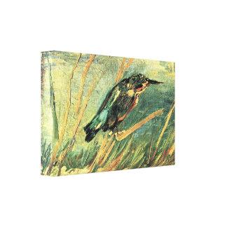 Kingfisher by Vincent van Gogh Canvas Prints