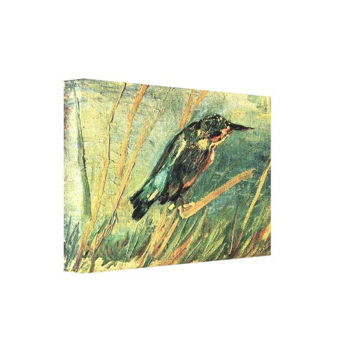 Kingfisher by Vincent van Gogh Canvas Print