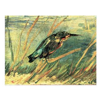 Kingfisher by Vincent van Gogh Postcard