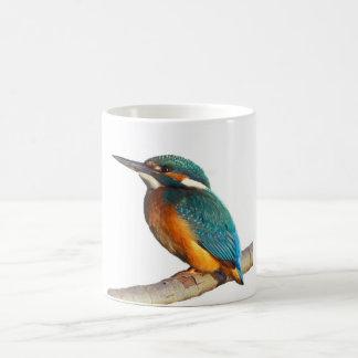 """Kingfisher"" design mugs"