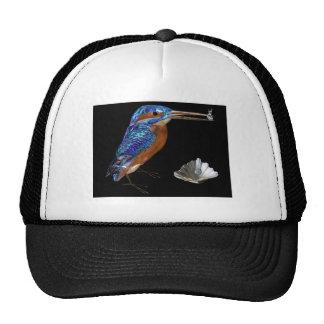 KINGFISHER  , Electric Blue, Black Trucker Hats