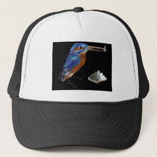 KINGFISHER  , Electric Blue, Black Trucker Hat