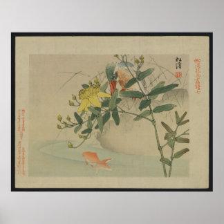 Kingfisher - Japanese Print