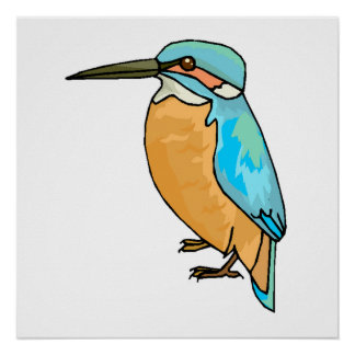 Kingfisher Posters