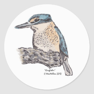 Kingfisher Stickers
