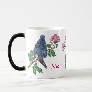 Kingfishers and Blossoms Mother's Day Mug
