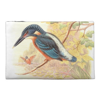 Kingfishers Birds Animals Wildlife Pond Bag