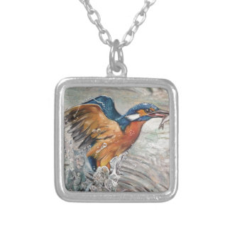 Kingfishing Silver Plated Necklace