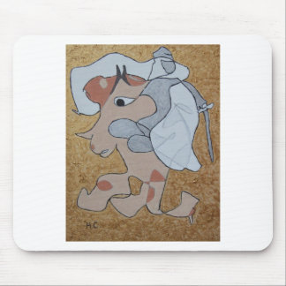 Kinght In White Satin Mouse Pad