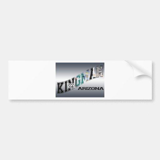 kingman arizona route 66 bumper sticker